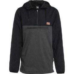 DC Shoes BARRICADE Bluza z polaru black. Czarne bluzy męskie rozpinane marki DC Shoes, m, z materiału. W wyprzedaży za 399,20 zł.