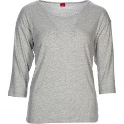 """Koszulka piżamowa """"Fashion Dreams"""" w kolorze jasnoszarym. Białe koszule nocne i halki marki LASCANA, w koronkowe wzory, z koronki. W wyprzedaży za 40,95 zł."""