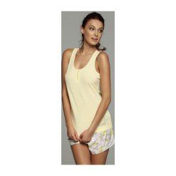 Piżama Fadia 32057 -11X 32059 -10X. Szare piżamy damskie marki Esotiq, z haftami, z elastanu. Za 82,90 zł.