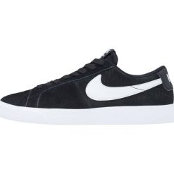 Nike SB BLAZER VAPOR Tenisówki i Trampki black/white. Czarne tenisówki męskie Nike SB, z materiału. W wyprzedaży za 287,20 zł.