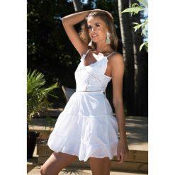 Sukienki: Biała Sukienka The Babylone Zone