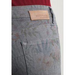 Betty & Co Jeans Skinny Fit grey denim. Szare jeansy damskie Betty & Co, z bawełny. W wyprzedaży za 359,20 zł.