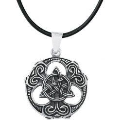 EtNox Magic and Mystic Celtic Knot Wisiorek + Rzemyk standard. Brązowe łańcuszki męskie etNox Magic and Mystic, posrebrzane. Za 62,90 zł.