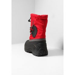Kamik SOUTHPOLE4 Śniegowce red. Czerwone buty zimowe damskie marki Kamik, z materiału. W wyprzedaży za 161,40 zł.
