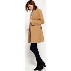Superdry ISTEGADE Płaszcz wełniany /Płaszcz klasyczny camel. Brązowe płaszcze damskie wełniane marki Superdry, l, klasyczne. W wyprzedaży za 441,75 zł.
