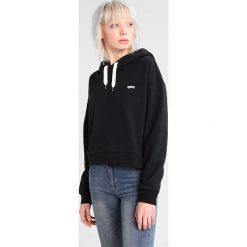 Bluzy rozpinane damskie: Vans BOULDER Bluza z kapturem black