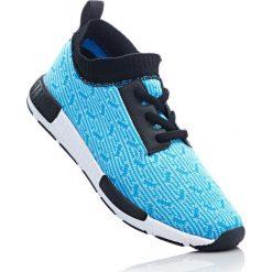Buty sportowe bonprix niebieski melanż. Niebieskie buty sportowe męskie marki bonprix, na sznurówki. Za 59,99 zł.