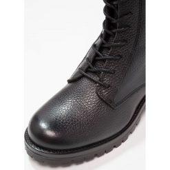 Botki damskie lity: Shoe The Bear CLARE Botki sznurowane black