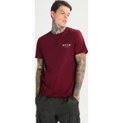 T-shirty męskie z nadrukiem: Nicce CHEST LOGO Tshirt z nadrukiem burg