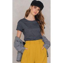 T-shirty damskie: Rut&Circle T-shirt z odkrytymi plecami Lo – Grey