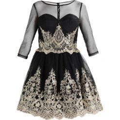 Sukienki hiszpanki: Chi Chi London RYANNE Sukienka koktajlowa black/gold