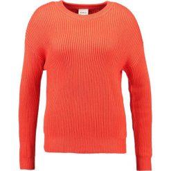 Swetry klasyczne damskie: Karen by Simonsen ACTUAL Sweter mandarin red