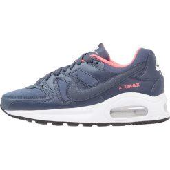 Nike Sportswear AIR MAX COMMAND FLEX  Tenisówki i Trampki midnight navy/white/dark obsid. Niebieskie trampki chłopięce Nike Sportswear, z gumy, klasyczne. W wyprzedaży za 204,50 zł.