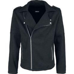 Jawbreaker Biker Style Jacket Kurtka czarny. Czarne kurtki męskie Jawbreaker, m, z aplikacjami. Za 224,90 zł.