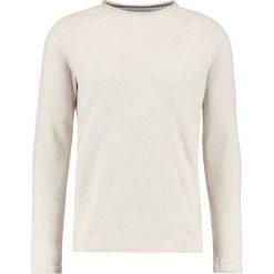Swetry klasyczne męskie: Springfield FINE Sweter beige