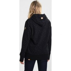 Bluzy rozpinane damskie: Ragwear Plus CHELSEA HEARTS PLUS Bluza z kapturem black