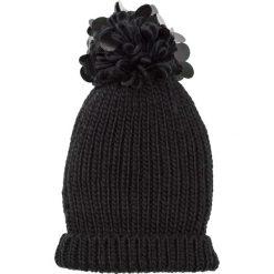 Czapka z cekinami bonprix czarny. Czarne czapki zimowe damskie bonprix, z dzianiny. Za 59,99 zł.