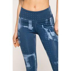 Reebok - Legginsy Lux Tight. Szare legginsy skórzane marki Reebok, l, z okrągłym kołnierzem. W wyprzedaży za 119,90 zł.