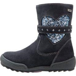Lurchi LINNITEX Kozaki atlantic. Czarne buty zimowe damskie marki Lurchi, z materiału. W wyprzedaży za 174,85 zł.