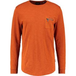 Swetry klasyczne męskie: Only & Sons ONSKLAUS STRUCTURE SWEAT Sweter bombay brown