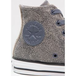 Trampki męskie: Converse CHUCK TAYLOR ALL STAR CRACKLED LEATHER HI Tenisówki i Trampki wysokie sharkskin/black/white