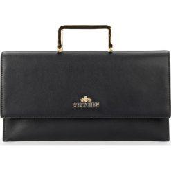 Torebka damska 87-4E-439-1. Czarne torebki klasyczne damskie marki Wittchen, w paski. Za 549,00 zł.