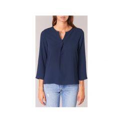 Bluzki Vero Moda  SASHA. Niebieskie bluzki na imprezę Vero Moda, l. Za 99,00 zł.