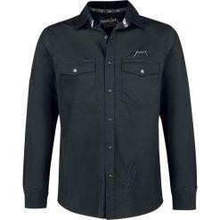 Metallica EMP Signature Collection Koszula czarny. Czarne koszule męskie na spinki marki Cropp, l. Za 199,90 zł.