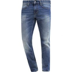 BOSS CASUAL Jeansy Slim Fit bright blue. Niebieskie jeansy męskie relaxed fit marki BOSS Casual, m. Za 509,00 zł.