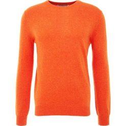 Pure cashmere Sweter orange. Brązowe swetry klasyczne męskie pure cashmere, l, z kaszmiru. Za 969,00 zł.