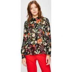 Vero Moda - Koszula. Brązowe koszule damskie marki Vero Moda, l, z materiału, z długim rękawem. W wyprzedaży za 89,90 zł.