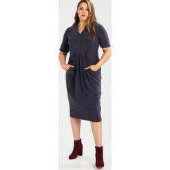 Sukienki hiszpanki: Evans SHIRT POCKET DRESS Sukienka letnia cam grey