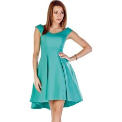 Sukienki asymetryczne: Sukienka w kolorze zielonym