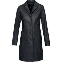 Płaszcze damskie: Płaszcz skórzany bonprix czarny