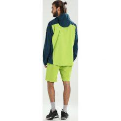 Vaude MENS SIMONY JACKET Kurtka przeciwdeszczowa dark petrol. Zielone kurtki trekkingowe męskie Vaude, m, z materiału. W wyprzedaży za 503,40 zł.