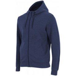4F Męska Bluza H4Z17 blm002 Denim Melanż L. Brązowe bluzy męskie rozpinane 4f, l, melanż, z bawełny. W wyprzedaży za 89,00 zł.