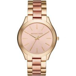 Zegarek MICHAEL KORS - Slim Runway MK3493 2T Gold/Rose/Gold. Żółte zegarki damskie Michael Kors. Za 950,00 zł.