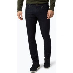 Wrangler - Jeansy męskie – Larston, niebieski. Niebieskie jeansy męskie z dziurami Wrangler. Za 379,95 zł.