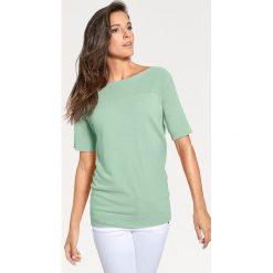Odzież damska: Sweter w kolorze turkusowym