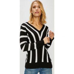 Trendyol - Sweter. Szare swetry klasyczne damskie marki Vila, l, z bawełny, z okrągłym kołnierzem. Za 79,90 zł.