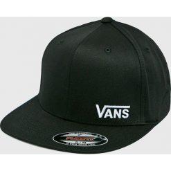 Vans - Czapka. Czarne czapki z daszkiem męskie Vans, z bawełny. Za 129,90 zł.