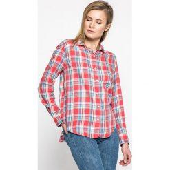 Levi's - Koszula. Brązowe koszule damskie w kratkę marki Levi's®, m, z bawełny, casualowe, z klasycznym kołnierzykiem, z długim rękawem. W wyprzedaży za 199,90 zł.
