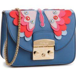 Torebka FURLA - Metropolis Papillon 966307 B BOU1 K58 Genziana e. Niebieskie torebki klasyczne damskie Furla, ze skóry. W wyprzedaży za 1129,00 zł.