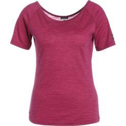 Topy sportowe damskie: super.natural ESSENTIAL SCOOP NECK TEE Tshirt basic loganberry melange