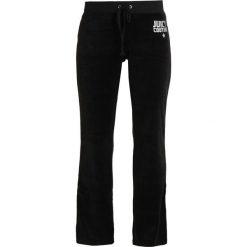 Juicy Couture STARBURST DEL RAY PANT Spodnie treningowe pitch black. Czarne bryczesy damskie Juicy Couture, l, z bawełny. Za 629,00 zł.