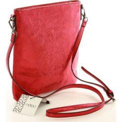 Life-stylowa torebka listonoszka czerwona SARA. Czerwone listonoszki damskie Nobo, w paski, ze skóry ekologicznej. Za 129,00 zł.