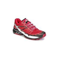 Buty do biegania Salomon  WINGS PRO 2 W. Szare buty do biegania damskie marki Salomon, z gore-texu, na sznurówki, gore-tex. Za 495,20 zł.