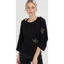 Bluzki damskie: Desigual KIMONO EXORBIDANCE Bluzka z długim rękawem black