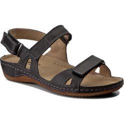 Rzymianki damskie: Sandały HELIOS – 205 Czarny