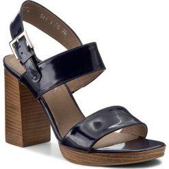 Rzymianki damskie: Sandały ANN MEX – 8137 05L Granat